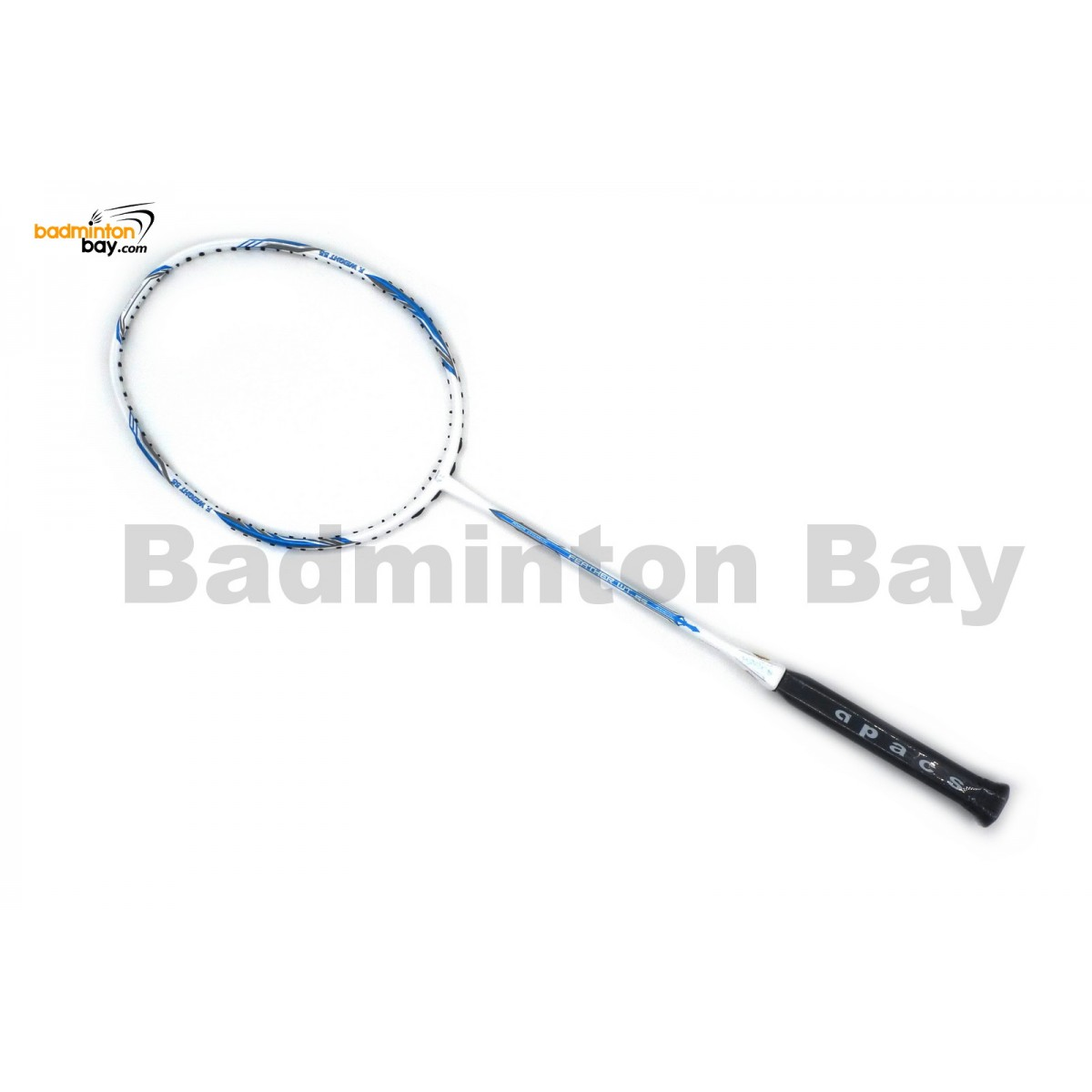 Apacs Feather Weight 55 White Badminton Racket 8u World