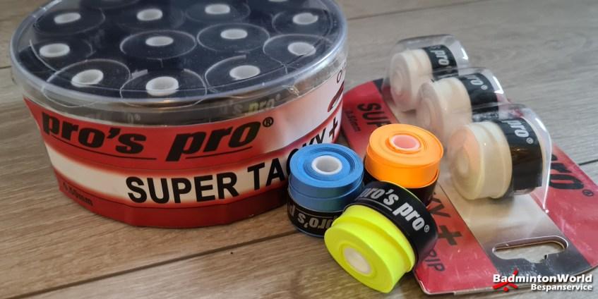 Pro's Pro Super Tacky Plus overgrip