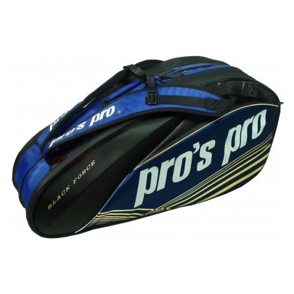 Pro's Pro Racketbag Black Force