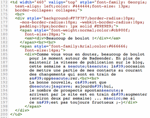 Outlook Et Le Code Html De Vos Emails Quelques Explications