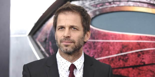 """Director Zack Snyder attends the """"Man Of Steel"""" world premiere at Alice Tully Hall on Monday, June 10, 2013 in New York. (Photo by Evan Agostini/Invision/AP)"""