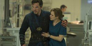 Doctor Strange Rachel McAdams Benedict Cumberbatch