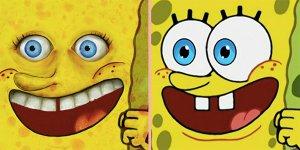 sonic spongebob