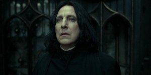Harry Potter JK Rowling informata della fine della maratona italiana parla di Alan Rickman