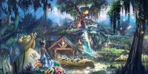 splash mountain principessa e il ranocchio