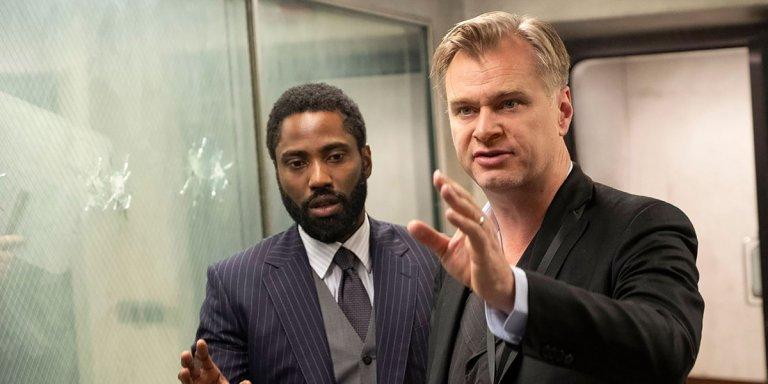 Tenet Christopher Nolan iPad Warner