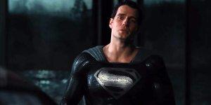 snyder cut costume nero superman henry cavill