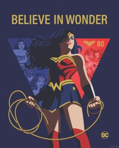 Wonder Woman 80th Anniversary Key Art