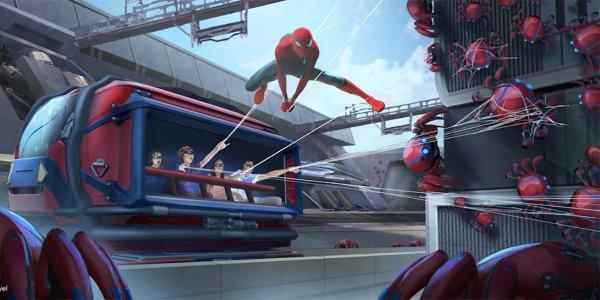 avengers campus spider-man