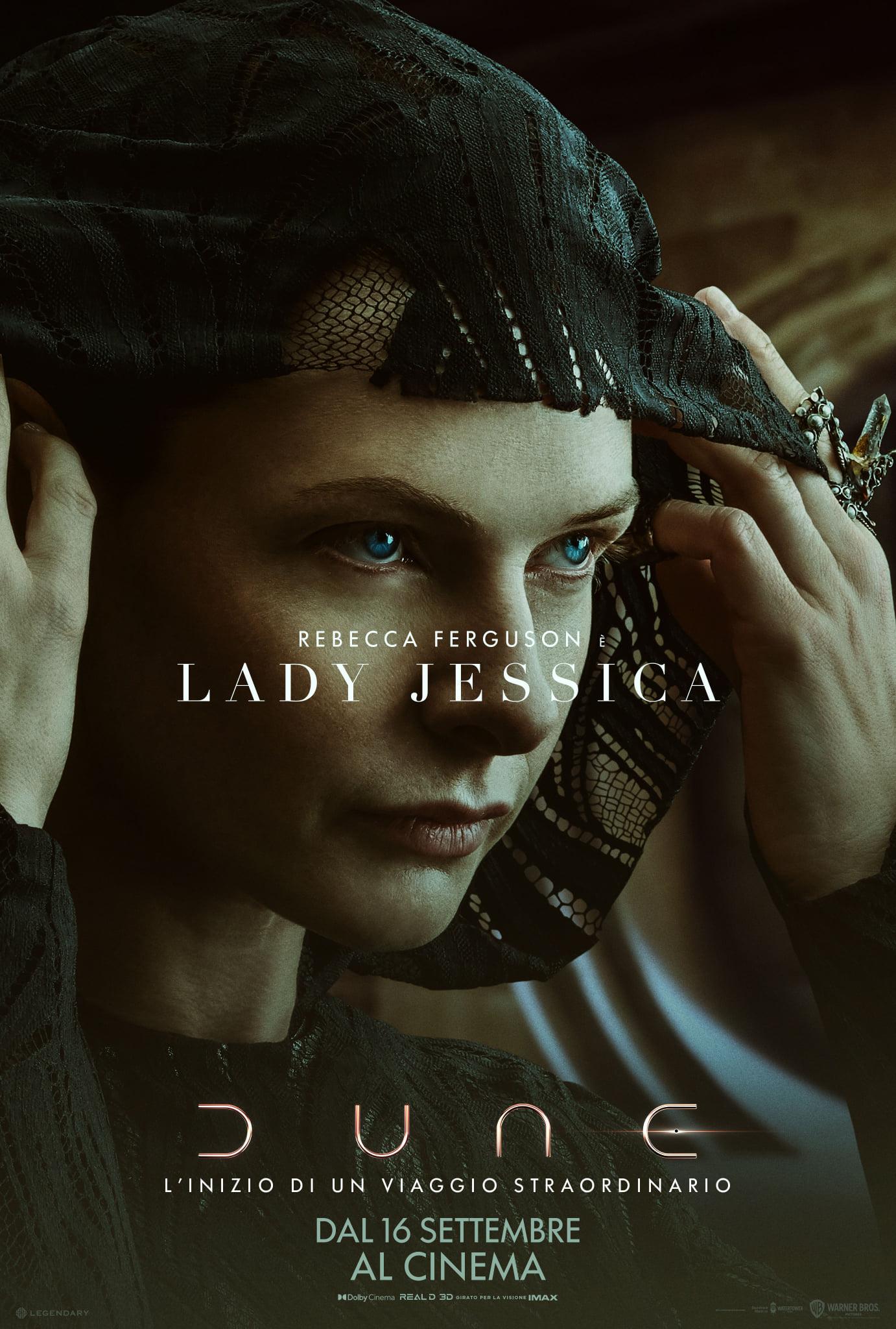 dune poster lady jessica