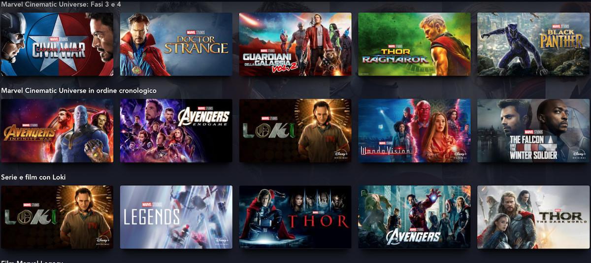 Universo Cinematografico Marvel