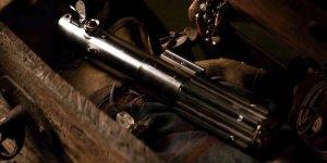 STAR WARS il risveglio della forza spada laser luke