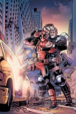 Deadpool and Cable: Split Second #2, copertina di Reilly Brown