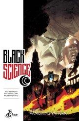 Black Science vol. 3: Vanishing Pattern, copertina di Matteo Scalera