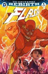 The Flash #1, copertina