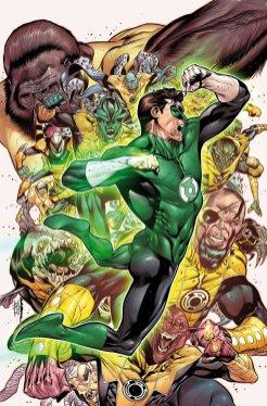 Hal Jordan and the Green Lantern Corps, #6, copertina di Rafael Sandoval