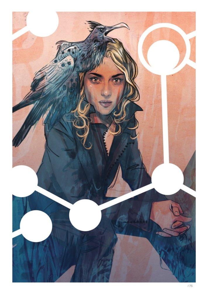 Supreme: Blue Rose, copertina di Tula Lotay