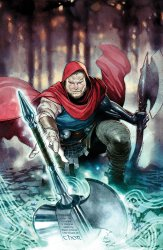 Unworthy Thor #1, copertina di Olivier Coipel