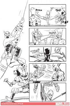 Rocket Raccoon & Groot #8, anteprima 11