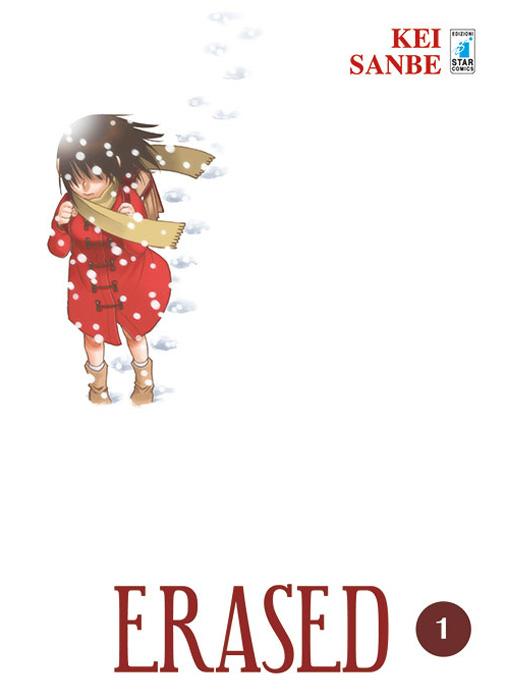 Erased 1, copertina di Kei Sanbe