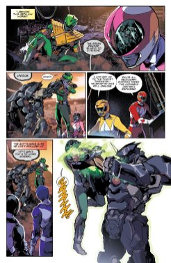 Mighty Morphin Power Rangers #6, anteprima 05