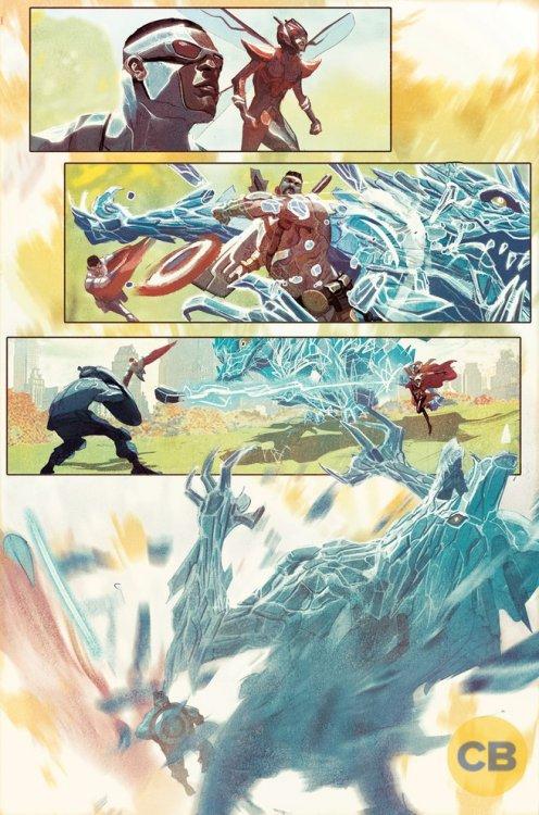 Avengers #1, anteprima 03