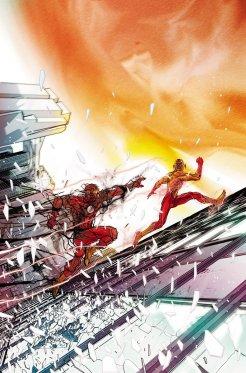 The Flash #12, copertina di Carmine Di Giandomenico