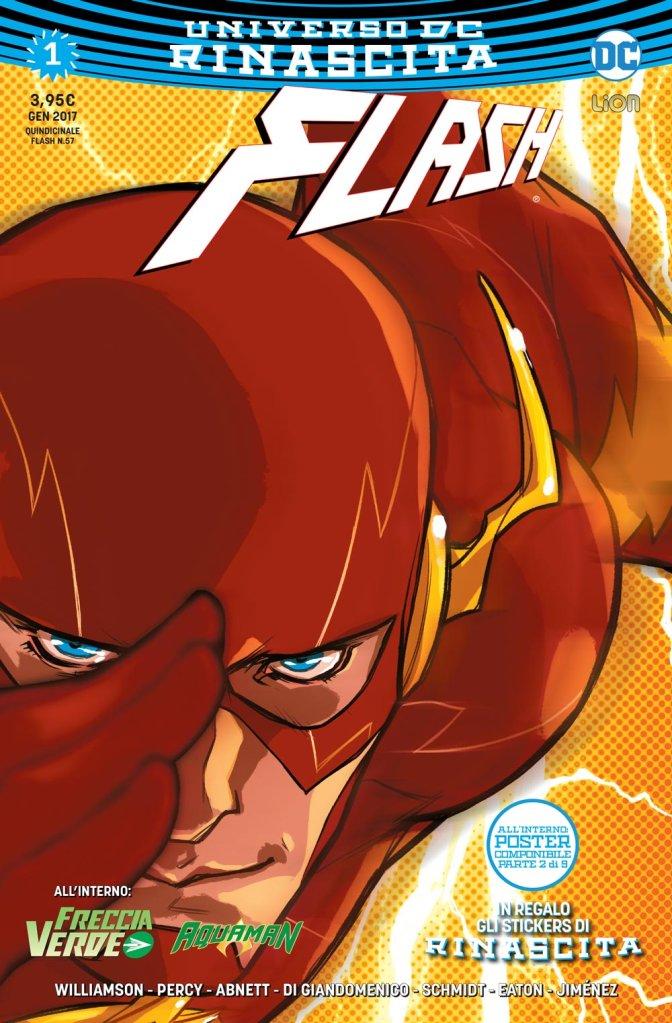 Flash 1, copertina di Karl Kerschl