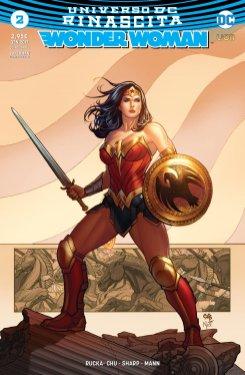 Wonder Woman 2, copertina variant di Frank Cho