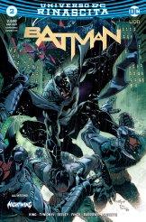 Batman 2, copertina di Eddy Barrows