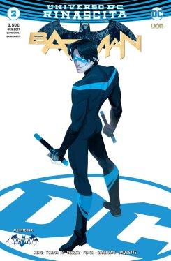 Batman 2, copertina variant di Babs Tarr