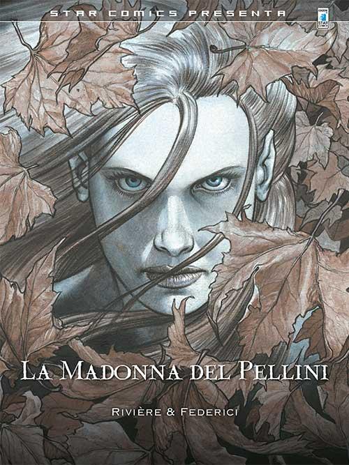 La Madonna del Pellini, copertina di Riccardo Federici