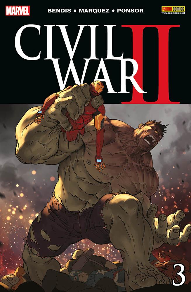 Civil War II 3, copertina di Marko Djurdjevic