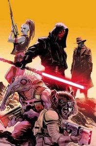 Darth Maul #3, copertina di Rafael Albuquerque