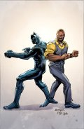 Black Panther & The Crew #1, variant cover di Rich Buckler