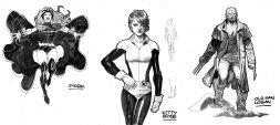 X-Men: Gold: studio personaggi 01 di Ardian Syaf