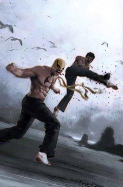 Iron Fist #3, copertina di Jeff Dekal