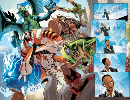 Monsters Unleashed #1, anteprima 02