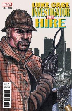 Luke Cage #1, variant cover di Neal Adams