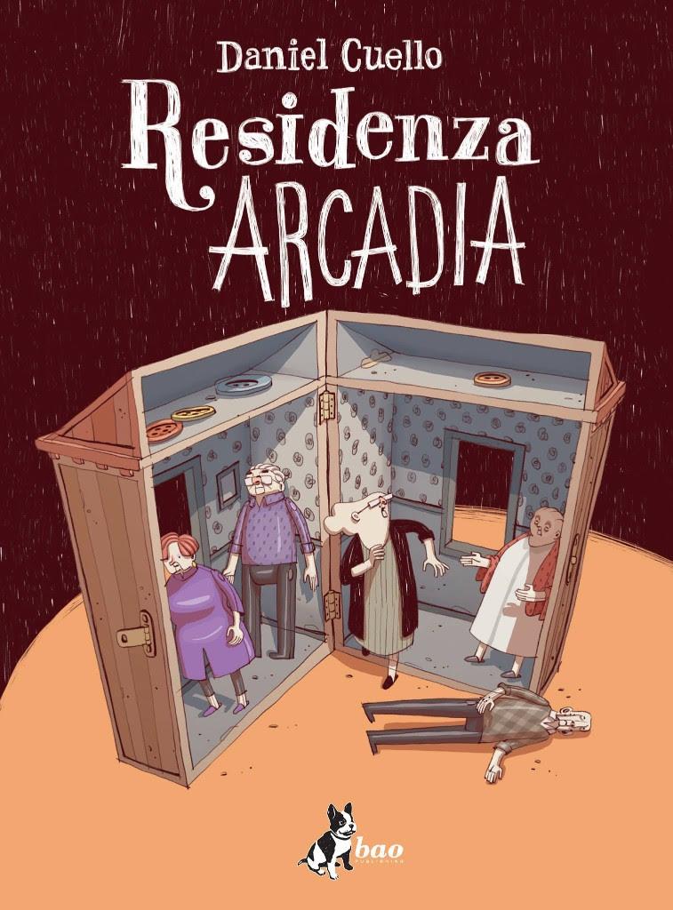 Residenza Arcadia, copertina di Daniel Cuello
