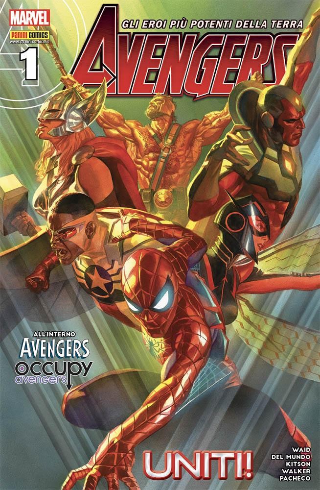 Avengers 1, copertina di Alex Ross
