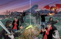 Dampyr 209, doppia copertina (in lavorazione) di Enea Riboldi