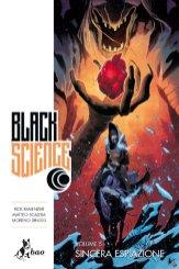 Black Science vol. 5: Sincera espiazione, copertina di Matteo Scalera