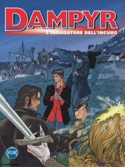 Dampyr 209, copertina A di Enea Riboldi
