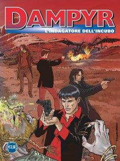 Dampyr 209, copertina B di Enea Riboldi