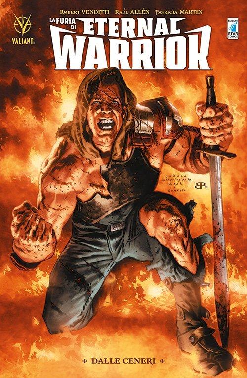La Furia di Eternal Warrior vol. 1: Dalle Ceneri, copertina di Lewis LaRosa