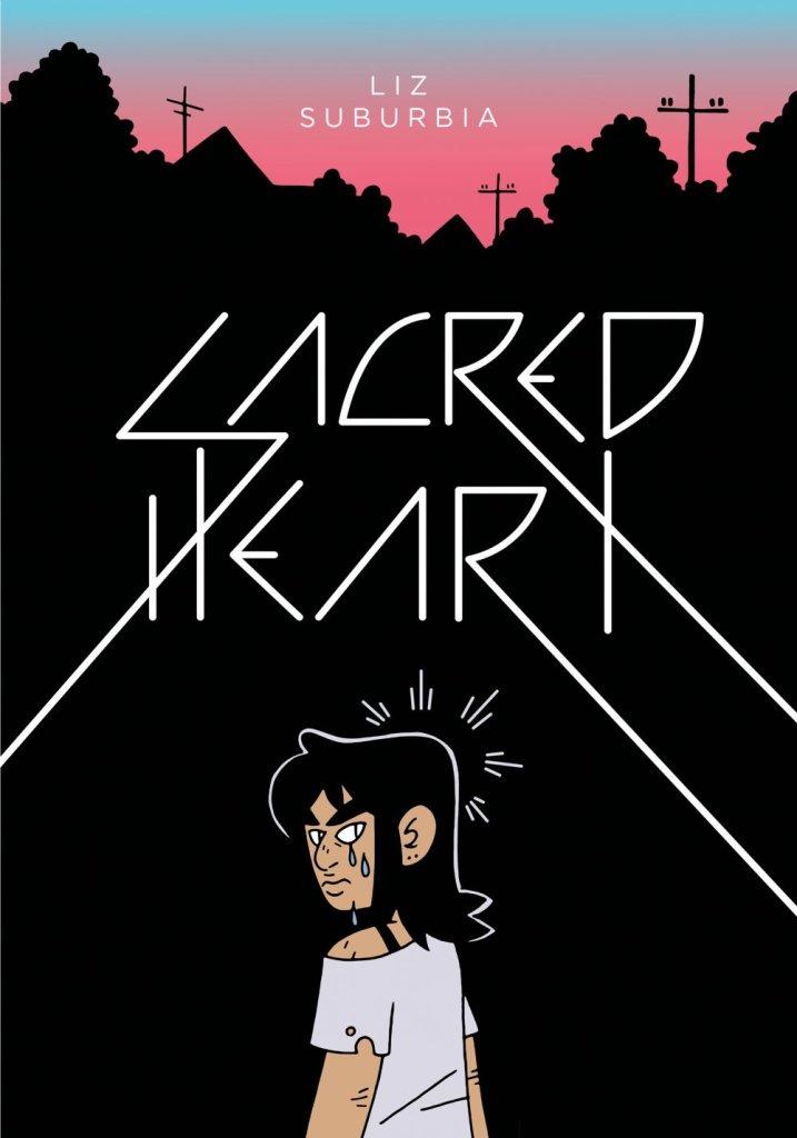 Sacred Heart, copertina di Liz Suburbia