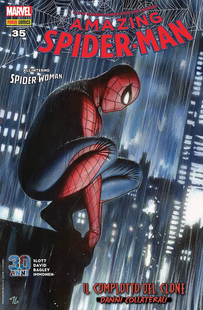 Amazing Spider-Man 35, copertina di Adi Granov