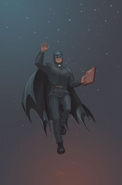 Mother Panic/Batman Special #1, copertina di Frank Quitely