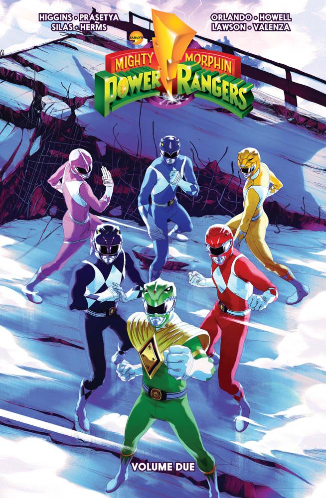 Mighty Morphin Power Rangers vol.2, copertina di Goni Montes